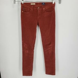 AG Stevie Slim Straight Corduroy Pants Cords